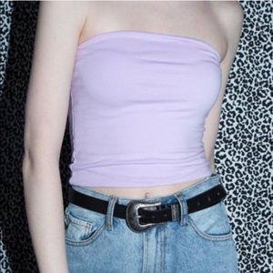 Brandy Melville Lilac Jenny Tube Top